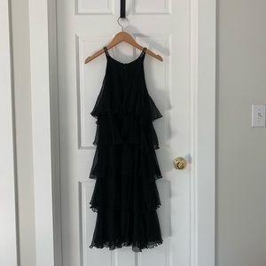 BCBGMaxAzria Black Dress, Black, Size L